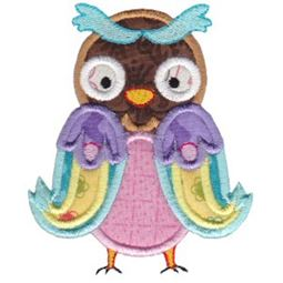 What A Hoot Applique 9
