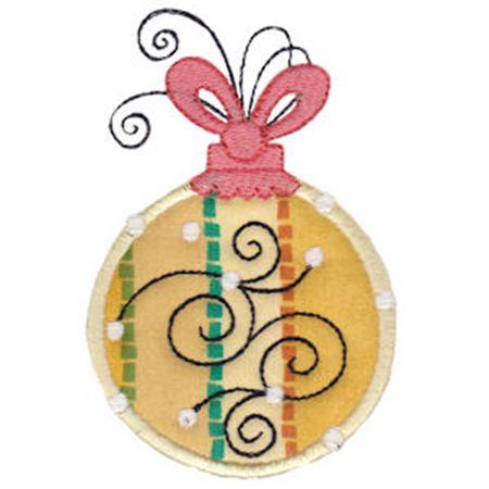 Whimsy Ornaments Applique 1