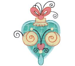 Whimsy Ornaments Applique 11