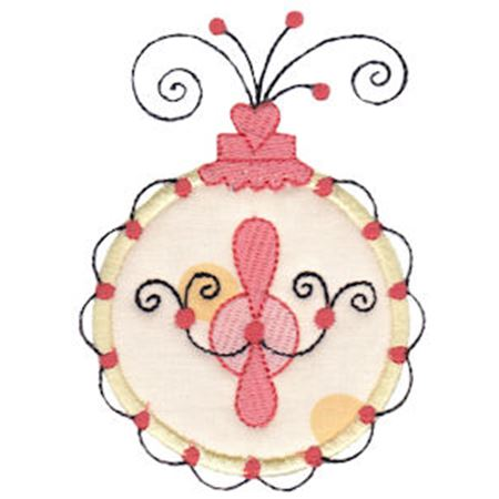 Whimsy Ornaments Applique 13