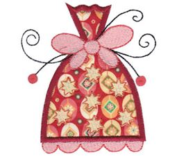 Whimsy Ornaments Applique 16