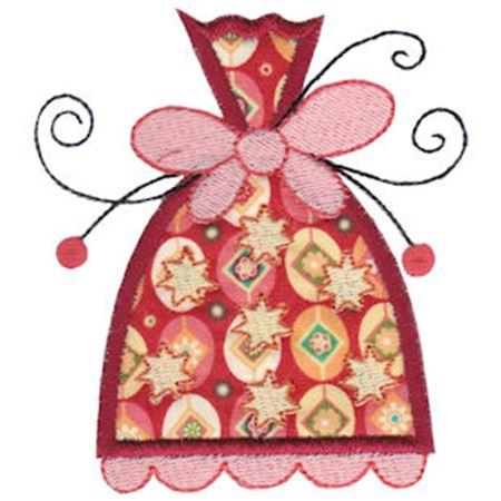 Whimsy Ornaments Applique 16