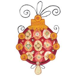 Whimsy Ornaments Applique 20