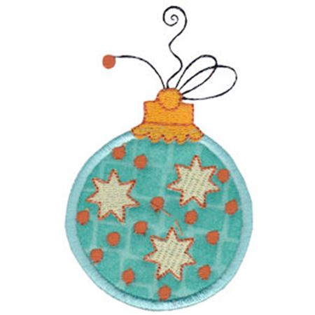 Whimsy Ornaments Applique 4