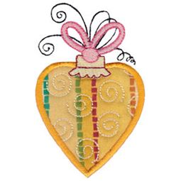 Whimsy Ornaments Applique 6