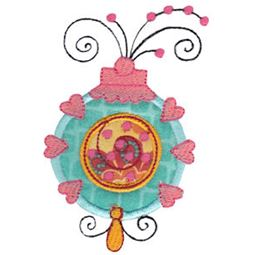 Whimsy Ornaments Applique 9