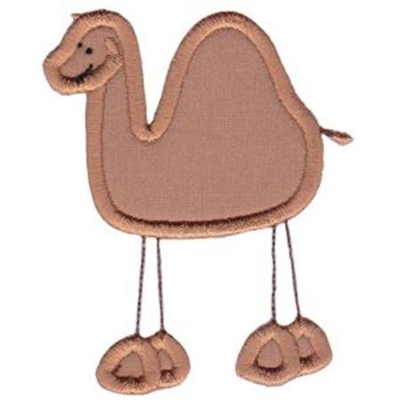 Camel Stick Animal Applique