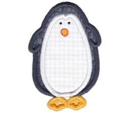 Penguin Stick Animal Applique