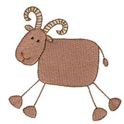 Ram Stick Animal