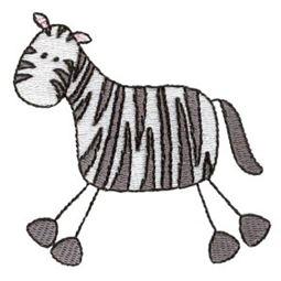Zebra Stick Animal