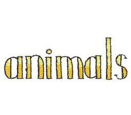 Animals Word Art