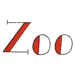 Zoo Word Art