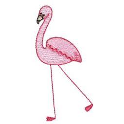 Flamingo  Stick Animal