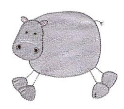 Hippo Stick Animal