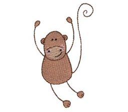 Monkey Stick Animal