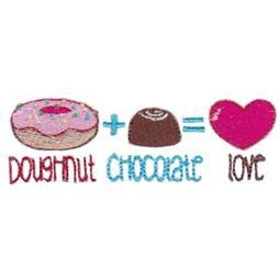 Doughnut Chocolate Love