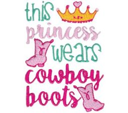 This Princess Wears Cowboy Boots