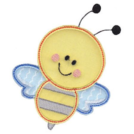 Bumble Bee Applique