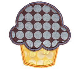 Cupcake Applique