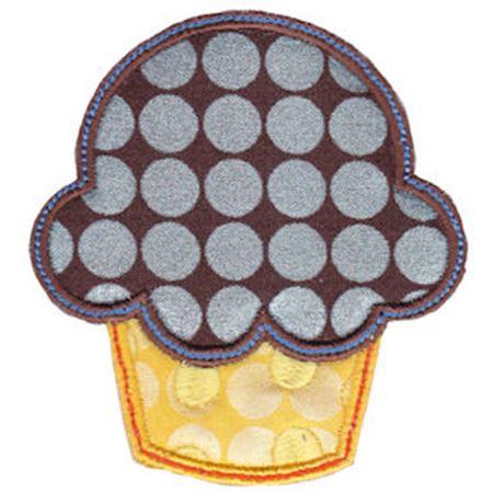 Cupcake Applique