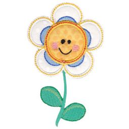 Daisy Flower Applique