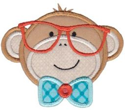 Monkey 1 Applique