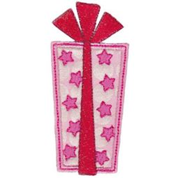 Star Present Applique