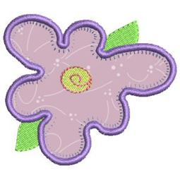 Funky Flowers Applique 1