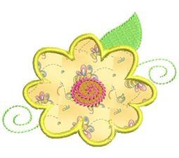Funky Flowers Applique 10