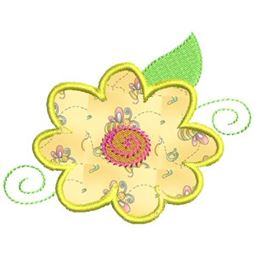 Funky Flowers Applique 10