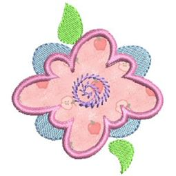 Funky Flowers Applique 3