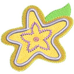 Funky Flowers Applique 6