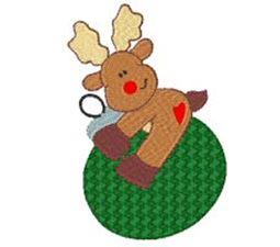 Winter Reindeer 2
