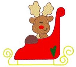 Winter Reindeer 5