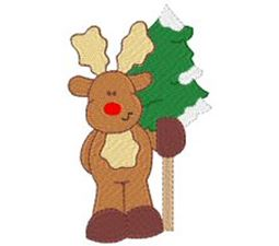 Winter Reindeer 7